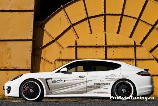 мощная Porsche Panamera Turbo S