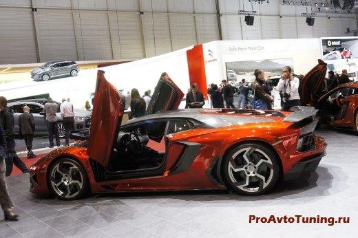 быстрый Lamborghini Aventador