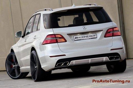 Mercedes M-Class Impact Kicherer