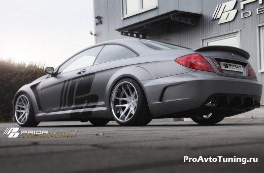 тюнинг Mercedes-Benz CL widebody