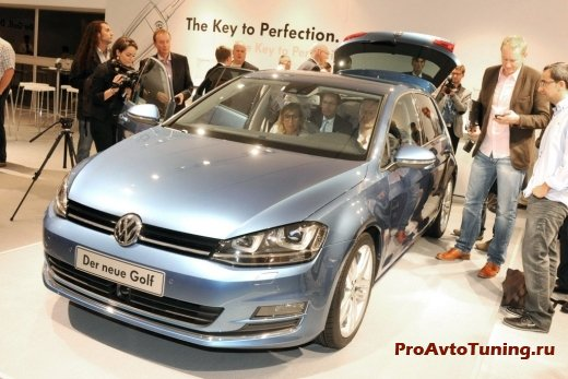 новинка Volkswagen Golf