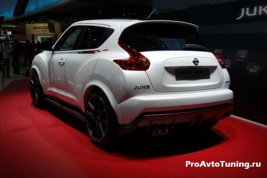 презентация Nissan Juke Nismo