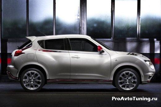 презентация нового Nissan Juke Nismo
