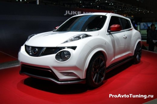 Новый Nissan Juke Nismo