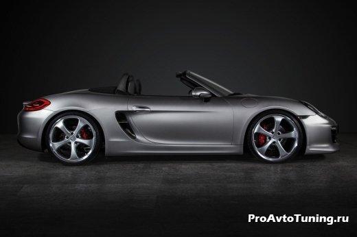 апгрейд Porsche Boxster от Techart