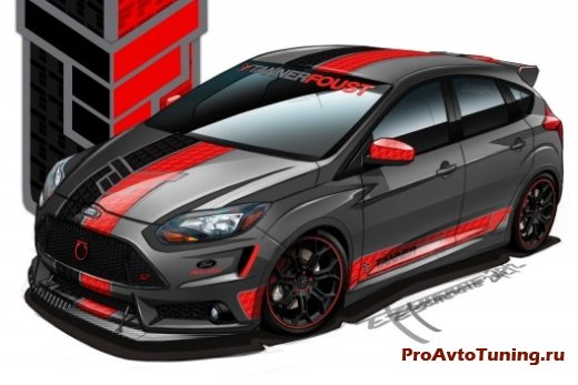 Ford Focus ST для SEMA 2012