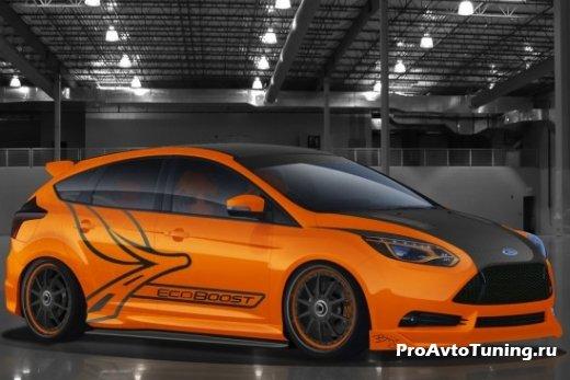 вариант тюнинга Ford Focus ST