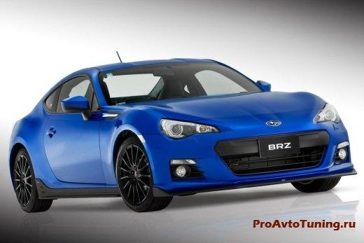 апгрейд Subaru BRZ