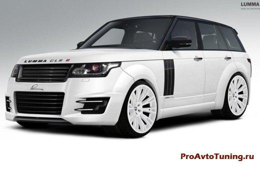 Прокачанный Range Rover 2013 года