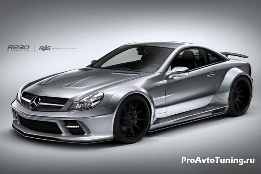 тюнинг SL65 AMG Black Series