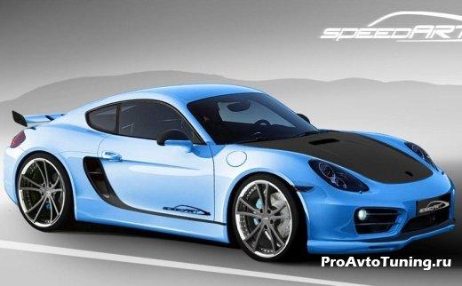 стайлинг Porsche Cayman 2013
