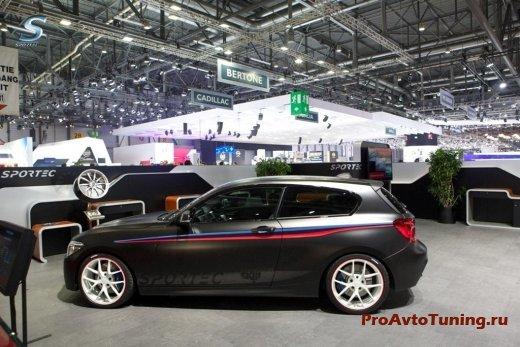 BMW M135i в Женеве