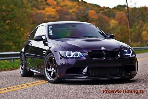 BMW E92 M3 Big Purp