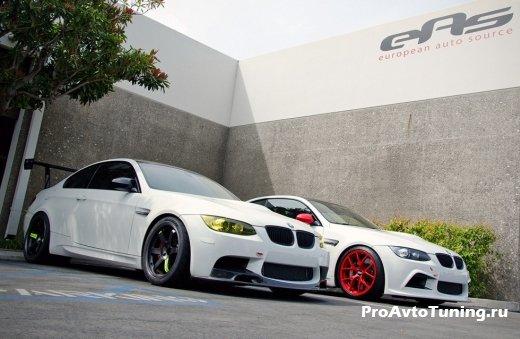 Белый BMW E92 M3