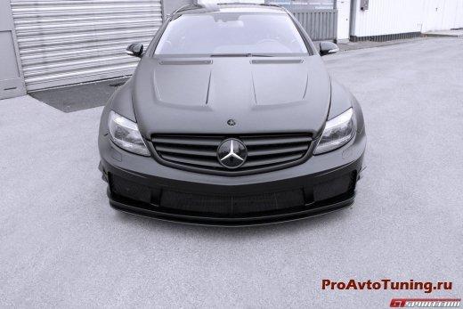Эксклюзивный тюнинг Mercedes Benz CL 500