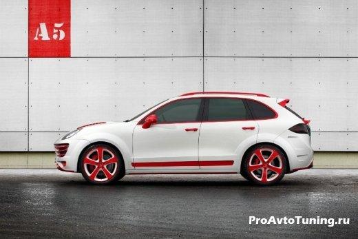 TopCar Porsche Cayenne Red Dragon