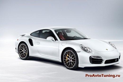 Porsche 911 Turbo S 2014 года