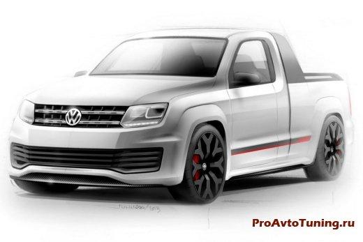 чертеж VW Amarok