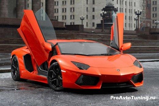 Lamborghini Aventador 2000 экземпляр