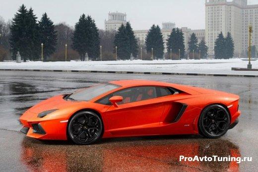юбилейный Lamborghini Aventador