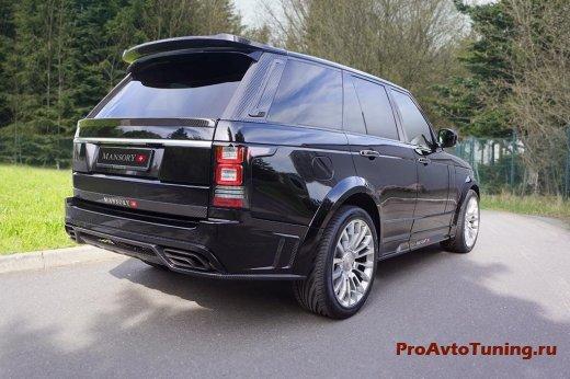 тюнинг внедорожника Range Rover