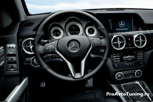 Mercedes GLK 350 Schwarz Edition