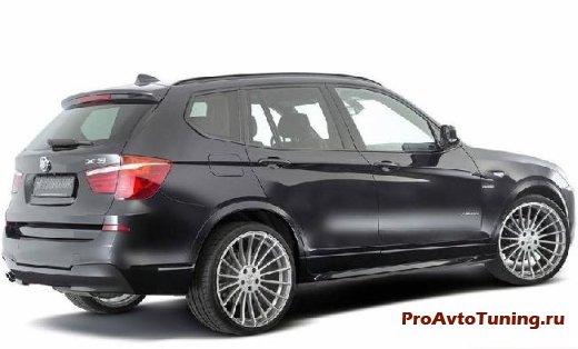BMW X3 тюнинг от Hamann
