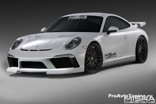 тюнинг Porsche 911 от Misha Design