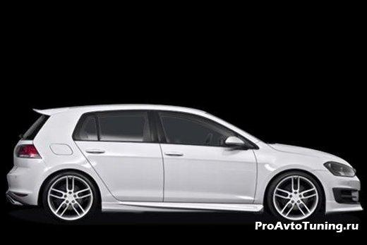 тюнинг Volkswagen Golf VII от Caractere