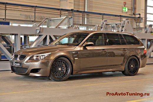 мощный BMW M5 Touring [E61]