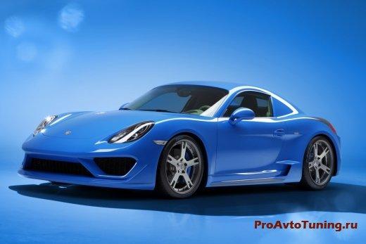 тюнинг Porsche Cayman S