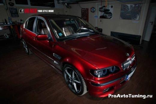 стильный салон BMW 3-Series E46