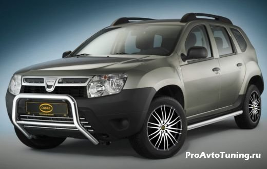 тюнинг Renault Duster Cobra Technology