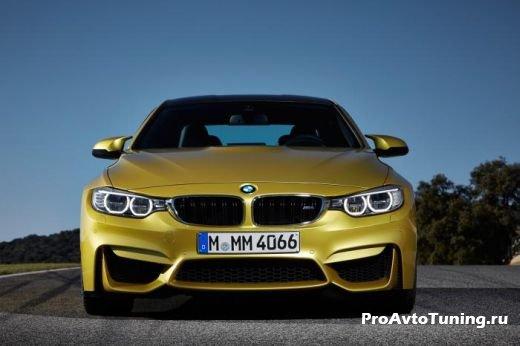 скоростной BMW M4 Coupe