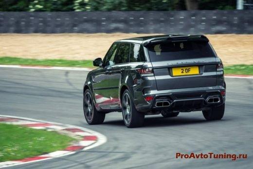 тюнинг Overfinch Range Rover Sport