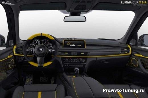 салон кроссовера BMW X6