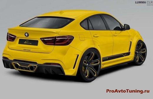 тюнинг Lumma Design BMW X6